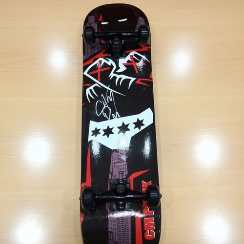 CM Punk SIGNED Skateboard