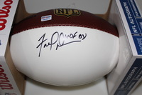 HOF - 49ERS FRED DEAN SIGNED PANEL BALL
