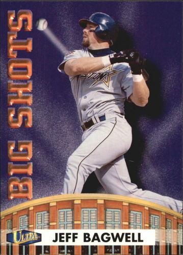 Photo of 1998 Ultra Big Shots #6 Jeff Bagwell
