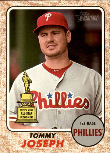 Photo of 2017 Topps Heritage #190 Tommy Joseph