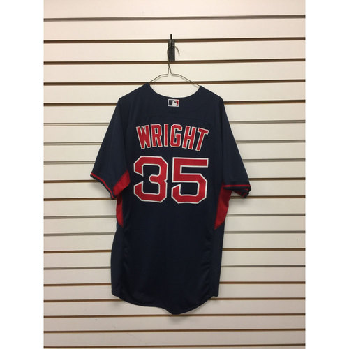 Photo of Steven Wright Team-Issued Road Batting Practice Jersey