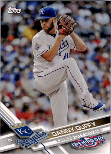 Photo of 2017 Topps Opening Day #105 Danny Duffy