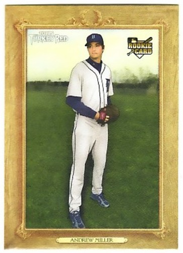 Photo of 2007 Topps Turkey Red #31 Andrew Miller Rookie Card