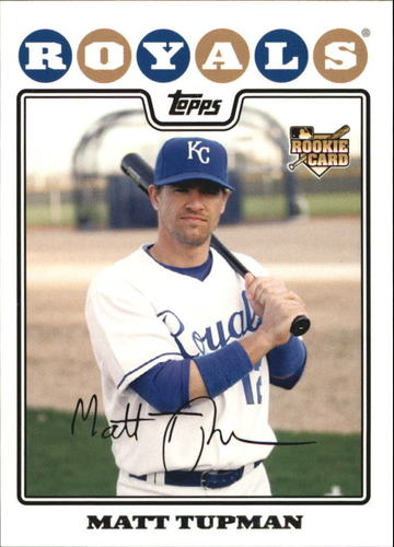 Photo of 2008 Topps #534 Matt Tupman RC