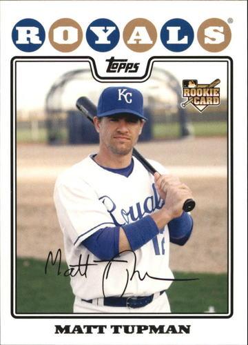Photo of 2008 Topps #534 Matt Tupman RC