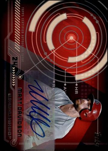 Photo of 2014 Topps Trajectory Autographs #TAMD Matt Davidson