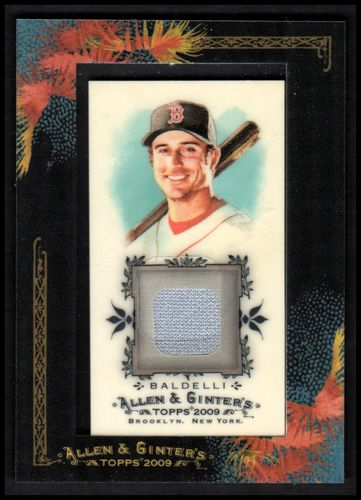 Photo of 2009 Topps Allen and Ginter Relics #RB2 Rocco Baldelli Jsy