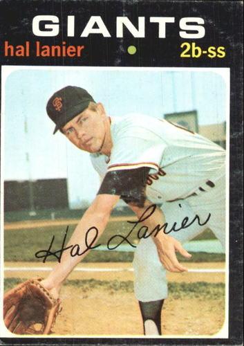 Photo of 1971 Topps #181 Hal Lanier