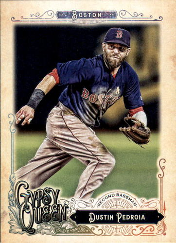 Photo of 2017 Topps Gypsy Queen #206 Dustin Pedroia