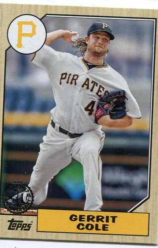 Photo of 2017 Topps '87 Topps #8766 Gerrit Cole