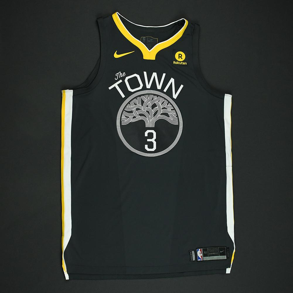 David West - Golden State Warriors - 2018 NBA Finals - Game 2 - Game-Worn Gray 'Statement' Jersey