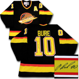 Pavel Bure Autographed Vancouver Canucks Jersey