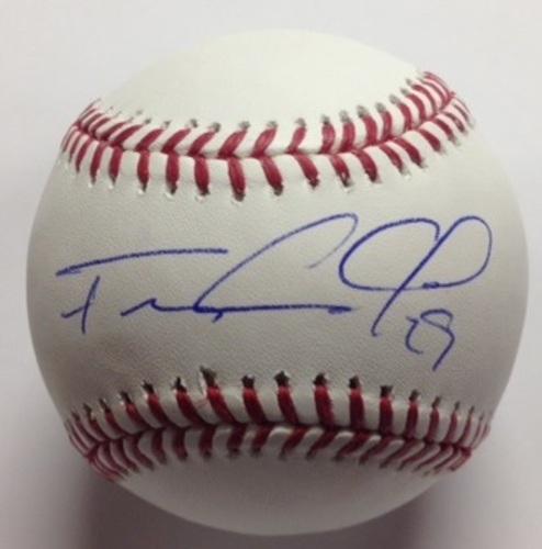 Photo of Francisco Cervelli Autographed Baseball