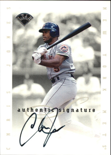 Photo of 1996 Leaf Signature Extended Autographs #94 Chris Jones