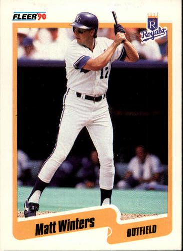 Photo of 1990 Fleer #124 Matt Winters RC