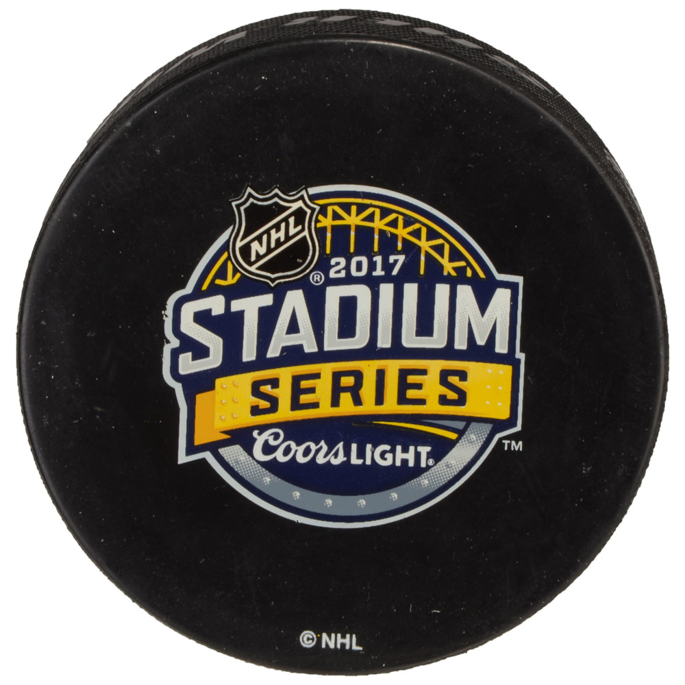 2017 Stadium Series Philadelphia Flyers Practice-Used Puck - Used During February 24, 2017 Practice Session