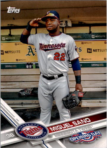 Photo of 2017 Topps Opening Day #134A Miguel Sano