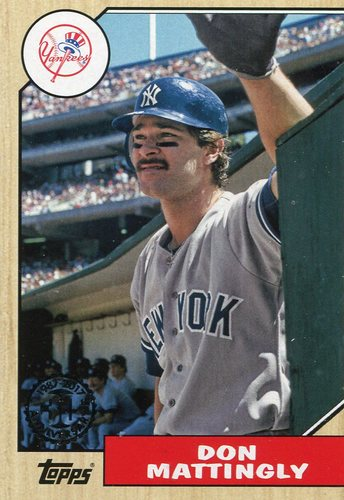 Photo of 2017 Topps '87 Topps #8767 Don Mattingly