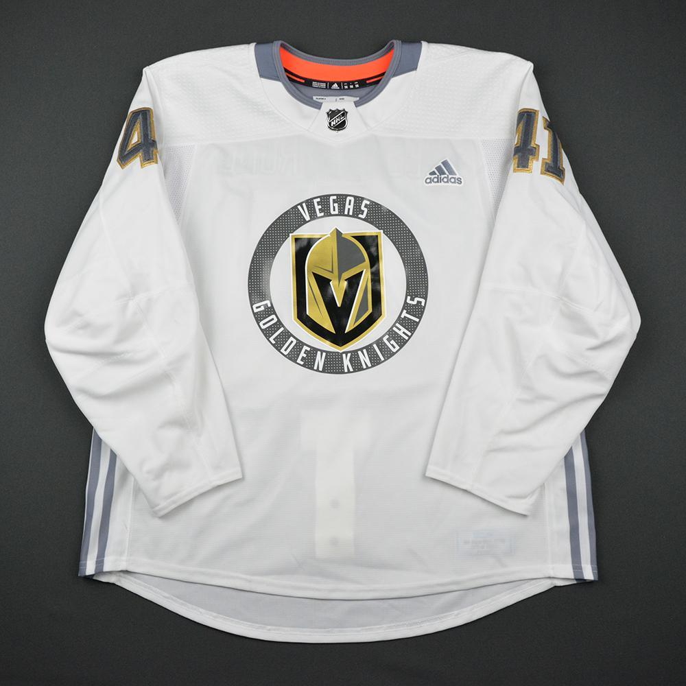 Pierre-Edouard Bellemare Warmup Worn/Autographed Practice Jersey - Vegas Golden Knights