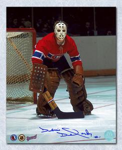 Denis Dejordy Montreal Canadiens Autographed Habs Goalie 8x10 Photo