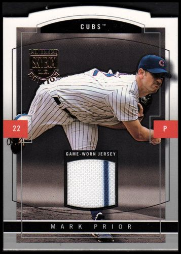 Photo of 2004 SkyBox LE Jersey Proof Silver #13 Mark Prior/50