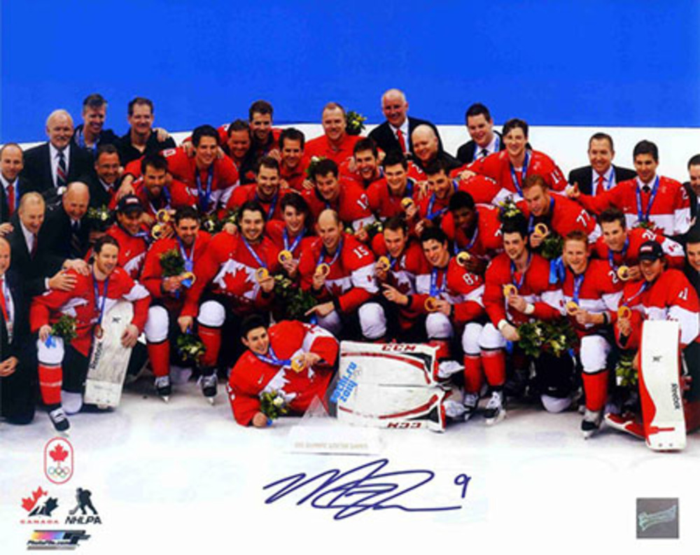 Matt Duchene - Signed 8x10 Photo - Team Canada Celebration