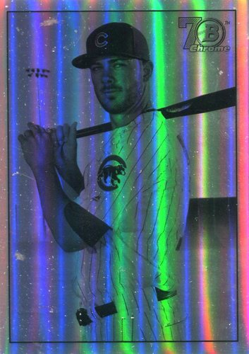 Photo of 2017 Bowman Chrome '48 Bowman Refractors #48BKB Kris Bryant