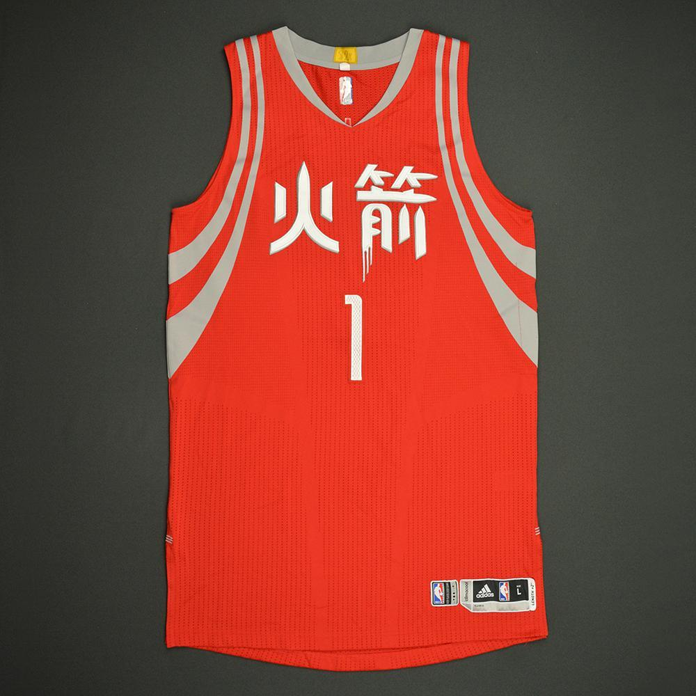 Trevor Ariza - Houston Rockets - Game-Worn Red Chinese New Year Jersey - 2016-17 Season