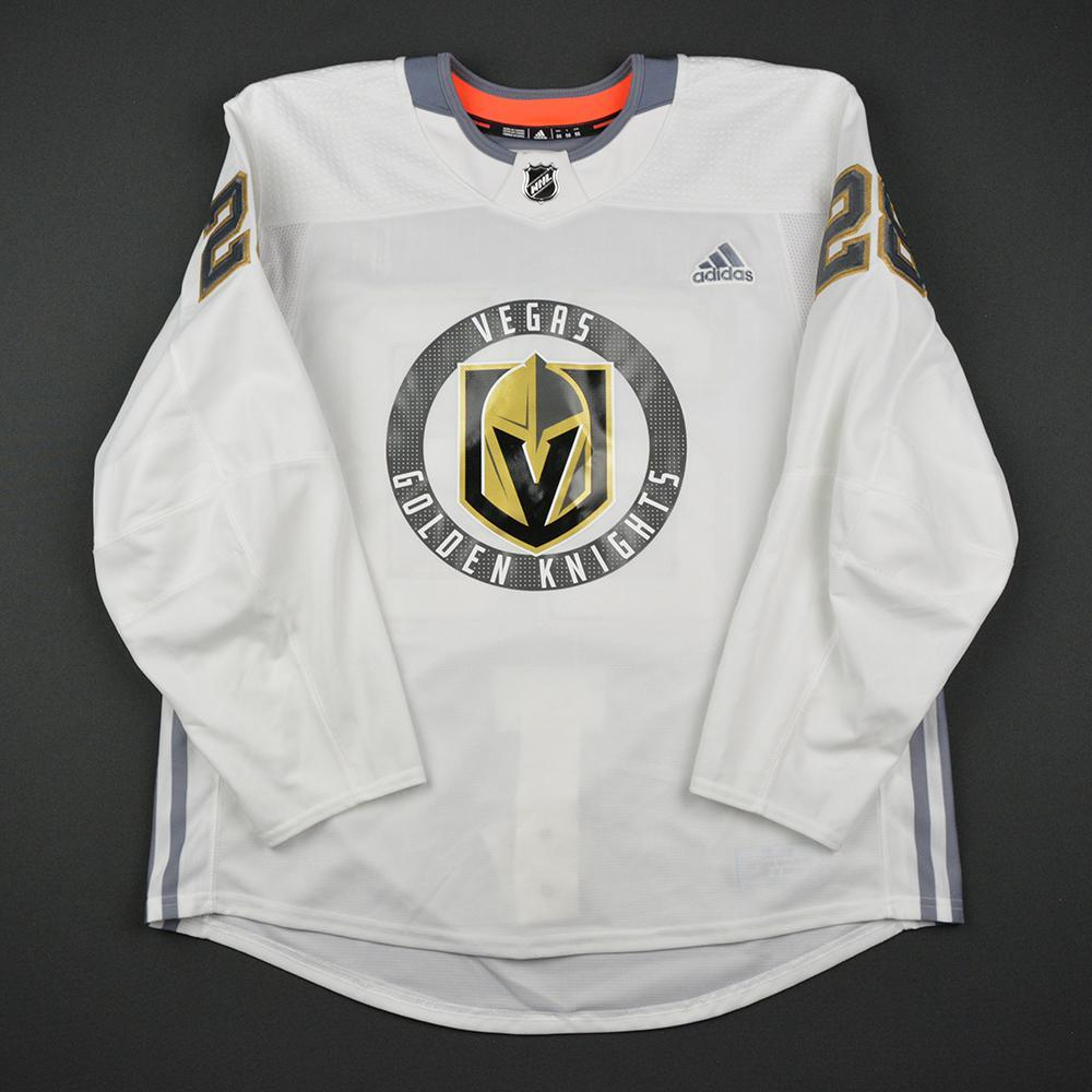 William Carrier Warmup Worn/Autographed Practice Jersey - Vegas Golden Knights