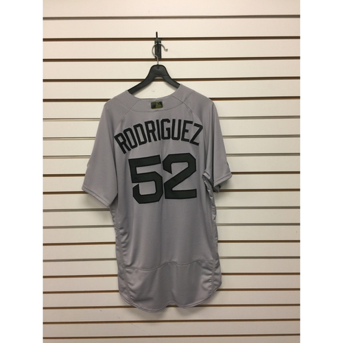 Photo of Eduardo Rodriguez Game-Used May 29, 2017 Road Jersey