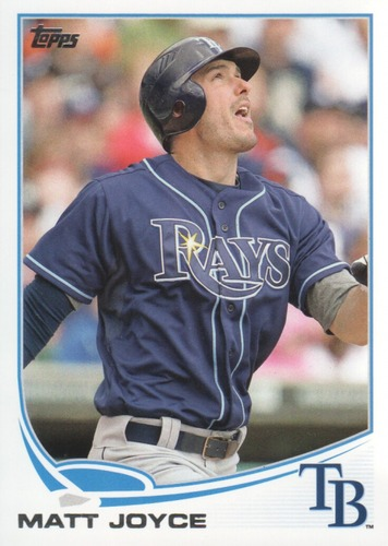 Photo of 2013 Topps #550 Matt Joyce
