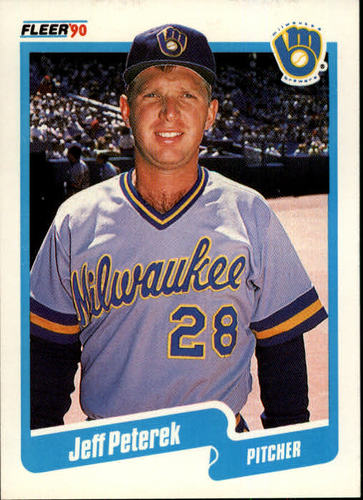 Photo of 1990 Fleer #333 Jeff Peterek RC