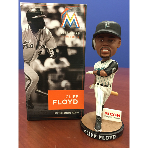 Photo of Marlins Charity Auction: Cliff Floyd Bobblehead