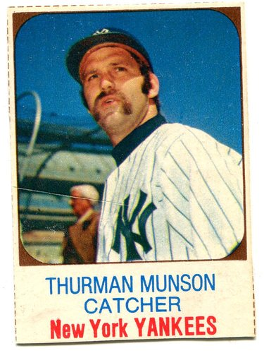 Photo of 1975 Hostess #138 Thurman Munson