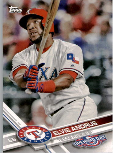 Photo of 2017 Topps Opening Day #142 Elvis Andrus