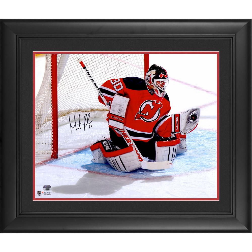Martin Brodeur New Jersey Devils Framed Autographed 16