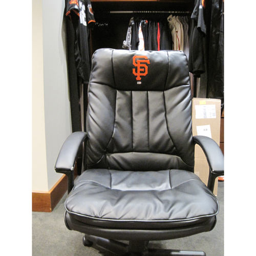 Photo of San Francisco Giants - Used Clubhouse Chairs from the Home Locker Room