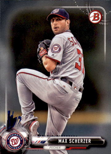 Photo of 2017 Bowman #43 Max Scherzer