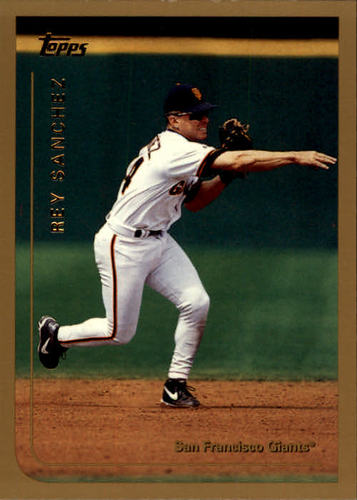 Photo of 1999 Topps #57 Rey Sanchez