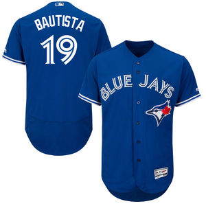 Toronto Blue Jays Authentic Collection Jose Bautista Flex Base Alternate Jersey by Majestic