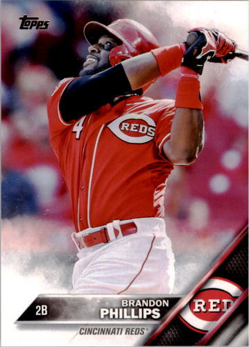 Photo of 2016 Topps #176 Brandon Phillips