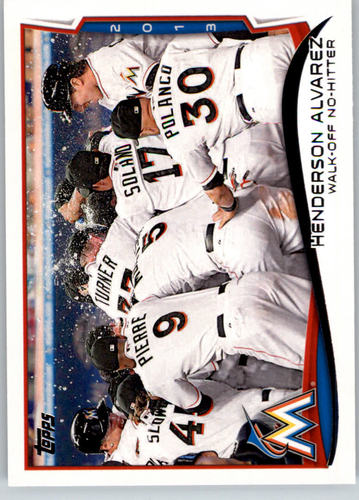 Photo of 2014 Topps #132 Henderson Alvarez HL
