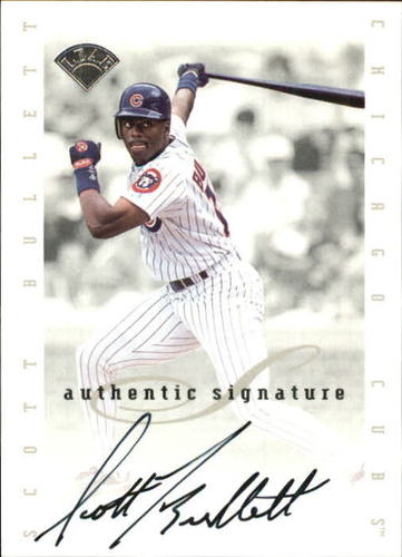 Photo of 1996 Leaf Signature Extended Autographs #20 Scott Bullett