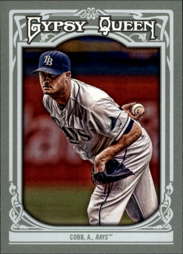 Photo of 2013 Topps Gypsy Queen #317 Alex Cobb
