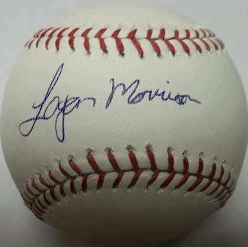 Photo of Logan Morrison Autographed Baseball