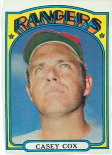 Photo of 1972 Topps #231 Casey Cox