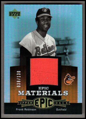 Photo of 2006 Upper Deck Epic Materials Dark Orange #FR2 Frank Robinson Jsy/130