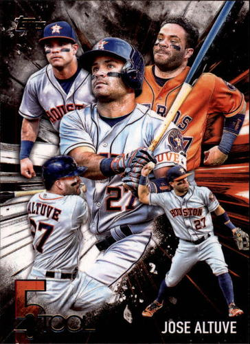Photo of 2017 Topps Five Tool #5T22 Jose Altuve