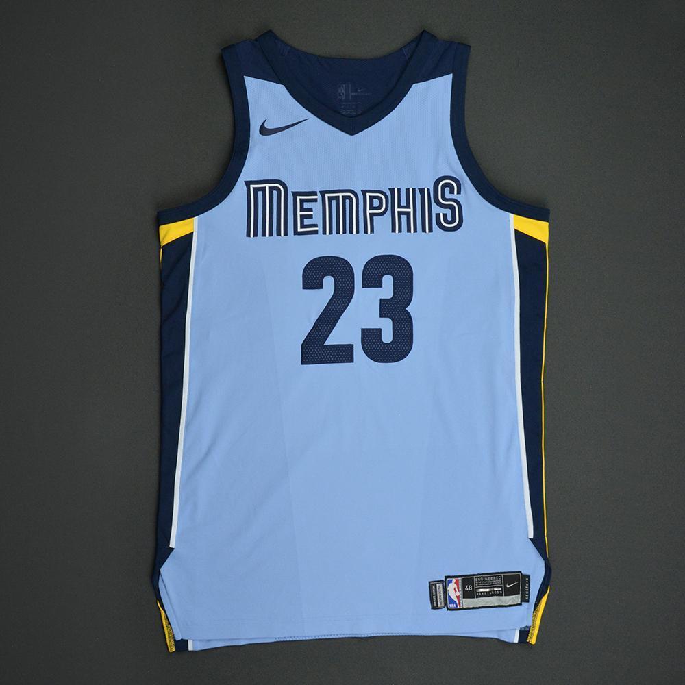 Ben McLemore - Memphis Grizzlies - Statement Game-Worn Jersey  - 2017-18 Season