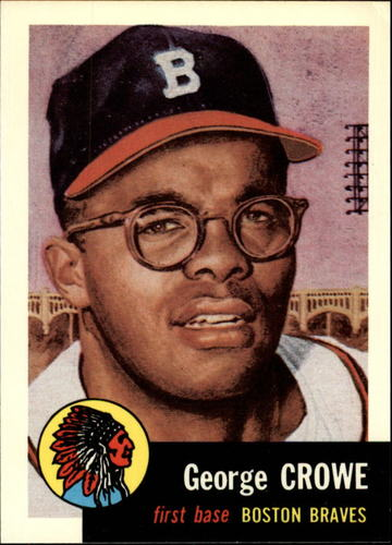 Photo of 1991 Topps Archives 1953 #3 George Crowe